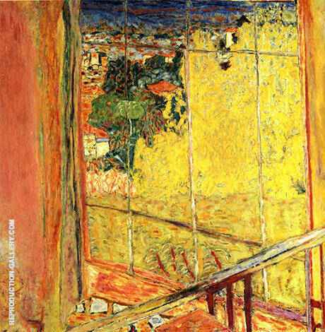Studio with Mimosas 1938 Painting By Pierre Bonnard - Reproduction Gallery