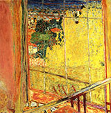 Studio with Mimosas 1938 By Pierre Bonnard