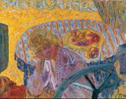 Young Women in the Garden (Renee Monchaty and Marthe Bonnard) 1921 By Pierre Bonnard