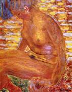 Sombre Nude 1939 By Pierre Bonnard