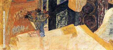 Still Life with Bouquet of Flowers or Venus and Cyrene By Pierre Bonnard