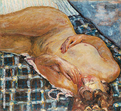 Reclining Nude 1909 By Pierre Bonnard - Oil Paintings & Art Reproductions - Reproduction Gallery