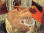 Woman in a Tub 1912 By Pierre Bonnard