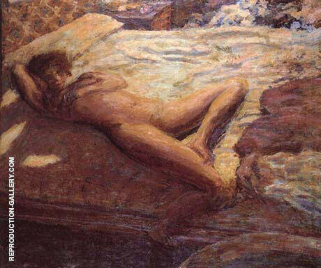 Indolence 1899 Painting By Pierre Bonnard - Reproduction Gallery