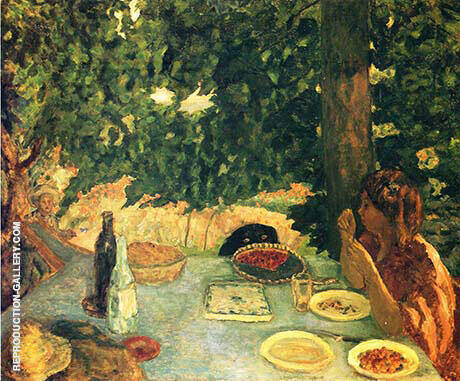 The Cherry Tart 1908 By Pierre Bonnard