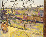 The Little Fauns By Pierre Bonnard