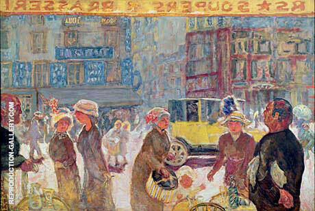 The Place Clichy 1912 By Pierre Bonnard