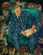 Portrait of Dr. Hugo Koller 1918 By Egon Schiele