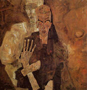 The Self-Seers II (Death and Man) 1911 By Egon Schiele