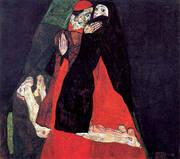 Cardinal and Nun (Caress) 1912 By Egon Schiele