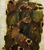 Sunflower 1911 By Egon Schiele