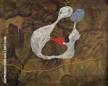 Love 1925 By Joan Miro
