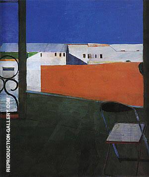 Window, 1967 By Richard Diebenkorn