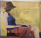 Seated Figure with Hat, 1967 By Richard Diebenkorn