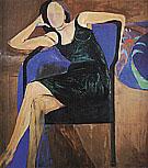 Seated Woman, 1967 By Richard Diebenkorn