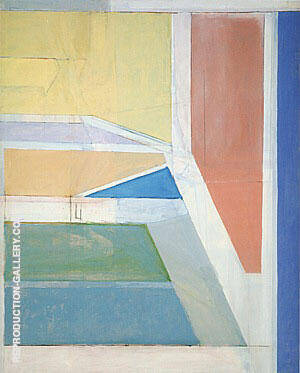 Ocean Park No.27 1970 By Richard Diebenkorn Replica Paintings on Canvas - Reproduction Gallery