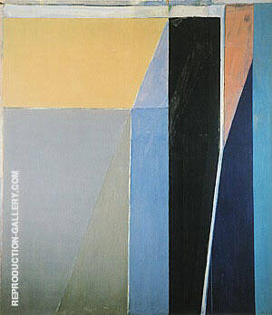 Ocean Park No.28, 1970 By Richard Diebenkorn Replica Paintings on Canvas - Reproduction Gallery