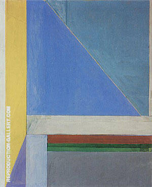 Ocean Park No.29, 1970 Painting By Richard Diebenkorn