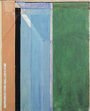 Ocean Park No.30, 1970 Painting By Richard Diebenkorn