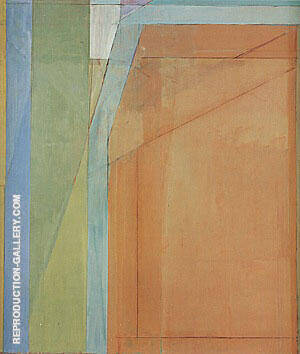 Ocean Park No.31, 1970 Painting By Richard Diebenkorn