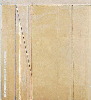 Ocean Park No.91, 1976 Painting By Richard Diebenkorn