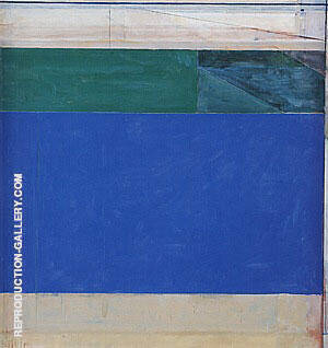 Ocean Park No.92, 1976 By Richard Diebenkorn Replica Paintings on Canvas - Reproduction Gallery