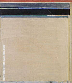 Ocean Park No.95, 1976 By Richard Diebenkorn Replica Paintings on Canvas - Reproduction Gallery