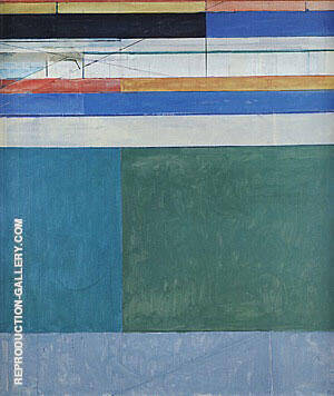 Ocean Park No.105, 1978 By Richard Diebenkorn Replica Paintings on Canvas - Reproduction Gallery