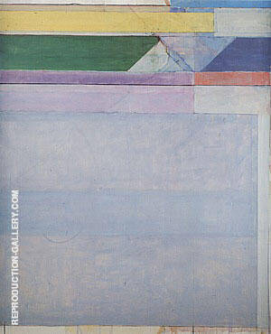 Ocean Park No.107, 1978 By Richard Diebenkorn Replica Paintings on Canvas - Reproduction Gallery