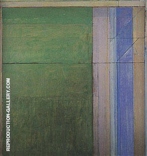 Ocean Park No.111, 1978 Painting By Richard Diebenkorn