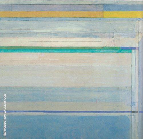 Ocean Park No.112, 1978 Painting By Richard Diebenkorn