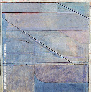 Ocean Park No.114, 1979 Painting By Richard Diebenkorn