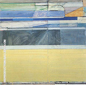 Ocean Park No.115 1979 By Richard Diebenkorn Replica Paintings on Canvas - Reproduction Gallery