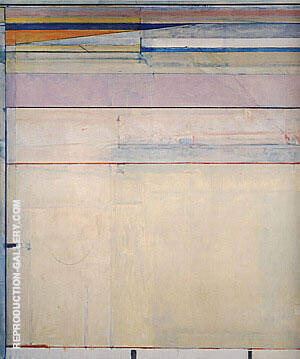 Ocean Park No.118, 1979-80 By Richard Diebenkorn Replica Paintings on Canvas - Reproduction Gallery