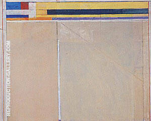 Ocean Park No.119, 1980 By Richard Diebenkorn Replica Paintings on Canvas - Reproduction Gallery