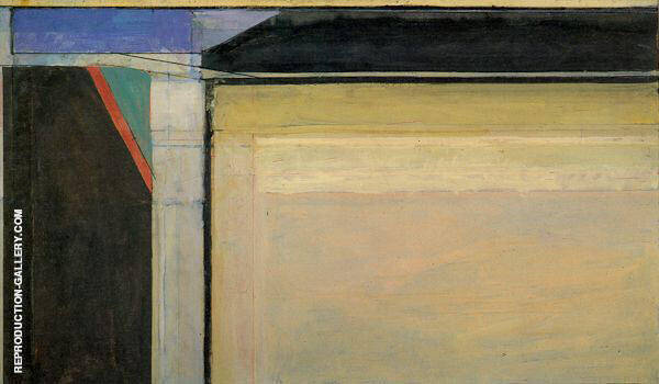 Ocean Park No.120, 1980 Painting By Richard Diebenkorn