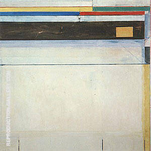 Ocean Park No.121, 1980 By Richard Diebenkorn Replica Paintings on Canvas - Reproduction Gallery