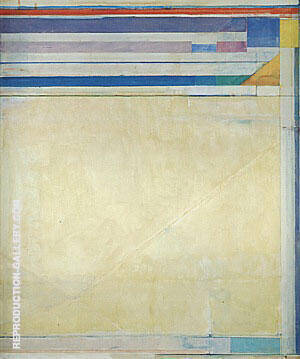 Ocean Park No.123, 1980 By Richard Diebenkorn Replica Paintings on Canvas - Reproduction Gallery