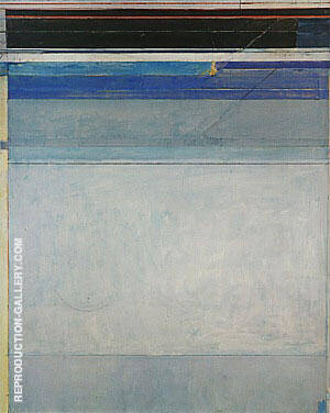 Ocean Park No.125, 1980 By Richard Diebenkorn Replica Paintings on Canvas - Reproduction Gallery