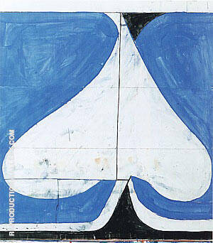 Untitled #14, 1981 By Richard Diebenkorn Replica Paintings on Canvas - Reproduction Gallery