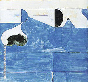 Reproduction of Untitled #33, 1981 by Richard Diebenkorn | Oil Painting Replica On CanvasReproduction Gallery