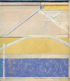 Ocean Park No.126, 1984 Painting By Richard Diebenkorn