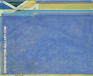 Ocean Park No.129, 1984 By Richard Diebenkorn