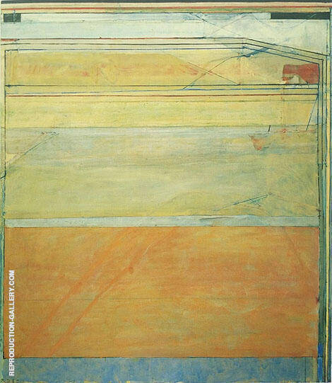 Ocean Park No.130, 1985 By Richard Diebenkorn Replica Paintings on Canvas - Reproduction Gallery