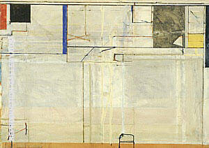 Ocean Park No.131, 1985 Painting By Richard Diebenkorn