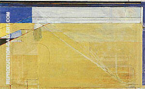 Ocean Park No.132, 1985 By Richard Diebenkorn