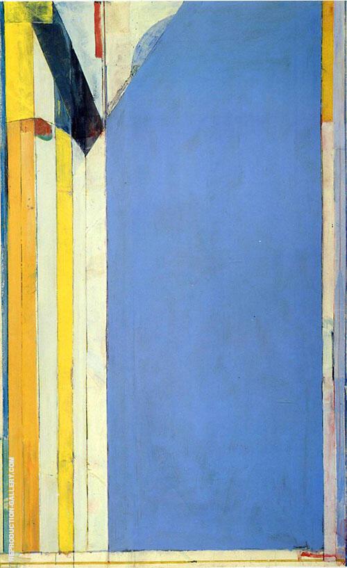 Ocean Park No.139, 1985 Painting By Richard Diebenkorn