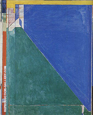 Ocean Park No.140, 1985 Painting By Richard Diebenkorn