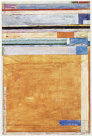 Untitled No.12, 1989-91 By Richard Diebenkorn Replica Paintings on Canvas - Reproduction Gallery
