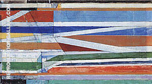 Untitled No.10, 1991 By Richard Diebenkorn Replica Paintings on Canvas - Reproduction Gallery